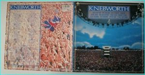 KNEBWORTH great compilation 21-track live vinyl double LP Pink Floyd, Paul McCartney, Eric Clapton, Elton John, Phil Collins