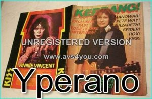 KERRANG NO. 37 March 1983 Progressive Rock special part 2, MOTORHEAD, Manowar, Marillion, Kiss
