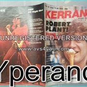 KERRANG NO. 18 JUNE 1982 Led Zeppelin, Robert Plant, Riot, Van Halen, Iron Maiden, Journey, YnT,