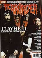 TERRORIZER 78 MAY 2000 MAYHEM, PANTERA, ORANGE GOBLIN, Crowbar, Crown, £5 Mint condition includes CD with 13 songs