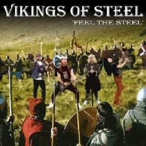 VIKINGS OF STEEL: Feel the Steel CD. RARE. Epic Heavy Metal. s