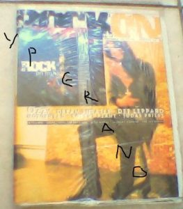 Sealed Rock On magazine & Rock On Music CD Ultra Rare compilation w. Exclusive songs: Mordicus, Boetz & Lemmy (Motorhead) etc.