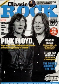 CLASSIC ROCK magazine 10. January 2000. Pink Floyd on cover. Fish, PAUL RODGERS, CAMEL, Styx, Metallica, Feeder, Gary Moore + CD