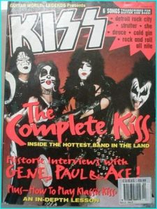 Guitar world Legends KISS (6 songs + Interviews with Gene, Paul, Ace) + Dave Sabo & Dimebag Darrell on Kiss