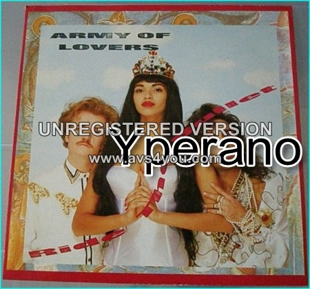 "Army of Lovers: Ride the bullet 12"" vinyl. SONL 12. Check video."