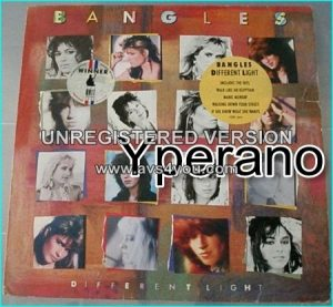 Bangles: different light LP. their best known with 6 Top hits Check videos