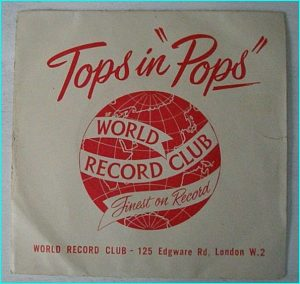 "TOPS IN POPS: The rounders with Orchestra 7"" Ancient 4 song single!!"