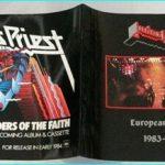 Judas Priest European Tour 1983 - 1984 Tour programme SIGNED autographed