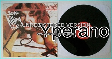 "LE GRIFFE: You're Killing Me 12"" Very RARE N.W.O.B.H.M. ROGUE MALE related. Check audio"