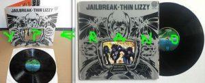 THIN LIZZY: Jailbreak LP Gatefold sleeve UK VERTIGO 1st Issue.