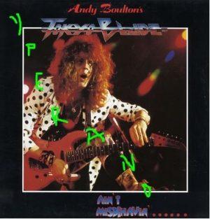 TOKYO BLADE: Ain't Misbehavin' LP. Original 1987 issue Scratch Records. Killer songs!