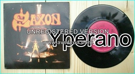 "SAXON: Suzy Hold On 7"" + Judgement Day (recorded live on tour '79) [N.W.O.B.H.M ]"
