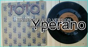 "TOTO: Rosanna 7"" + Its a feeling. Highly influential half-time shuffle tempo.Check video."