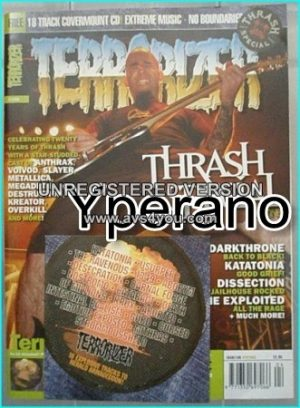 TERRORIZER 108 Apr 03 Thrash Metal Special. MINT CONDITION.