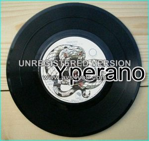 "WHITESNAKE: Snakebite 7"" [Ultra Rare, Black vinyl, never on picture sleeve] Check videos!"