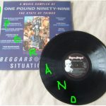 A MUSIC SAMPLER OF THE STATE OF THINGS LP. Beggars Banquet 1985. Alternative Rock compilation. The Cult, Ramones. s.