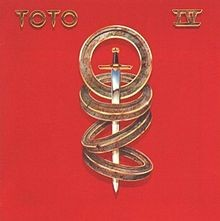 TOTO: IV LP. Includes mega hits like Rosanna + Africa