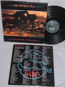 38 SPECIAL: Tour De Force LP promo. For 80's fans. Foreigner, Survivor. + videos.