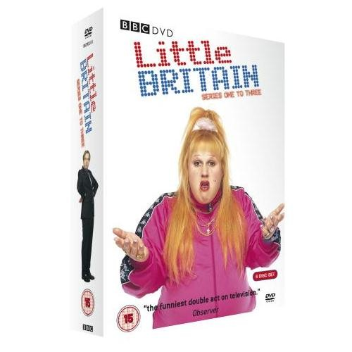 LITTLE BRITAIN Series One to Three (6 Disc Set)