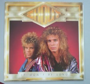 SHOUT: It won't be long LP. us frontline 1988 WITH INSERT. s.
