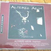 ALTERED AEON: Dispiritism CD PROMO. Killer Thrash Metal..