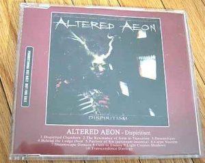 ALTERED AEON: Dispiritism CD PROMO. Killer Thrash Metal..