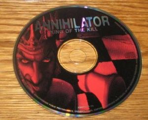 ANNIHILATOR: King of the Kill CD (only - no booklets) Free £0 for orders of £65+