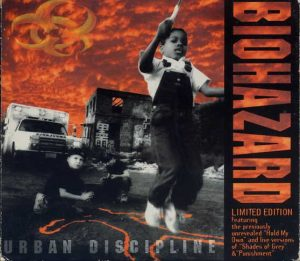 BIOHAZARD: Urban Discipline Limited Edition (very impressive huge) Digipak CD. 16 songs. Extra live songs + cover. Check videos