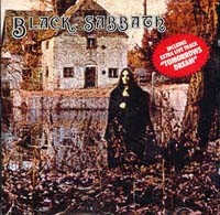 Black Sabbath: Black Sabbath (s.t / 1st, debut) + 1 bonus track (live).. NELCD 6002, UK, December 1986
