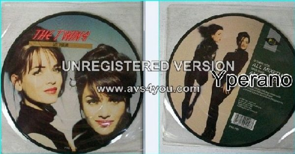 "THE TWINS: All Mixed Up 7"" picture disc. Stock Aitken Waterman. Sexy twins Gayle & Gillian (""Neighbours"" TV actors) Check video!"