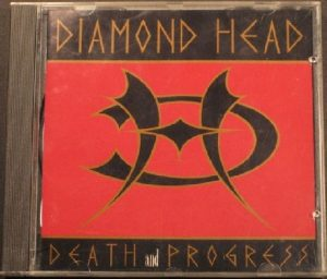 DIAMOND HEAD: Death and Progress CD. Classic! w. Tony Iommi of Black Sabbath & Dave Mustaine of Megadeth