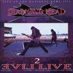 DIAMOND HEAD: Evil Live 2 C.d.set CD (Live 1993 + 5 Previously Unreleased Covers) Original 1st press.