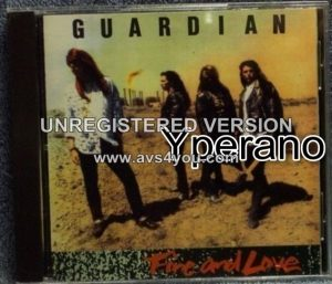 GUARDIAN Fire and Love CD 1990 Pakaderm ELEFANTE Rare. Christian A.O.R / Melodic Hard rock. + videos.