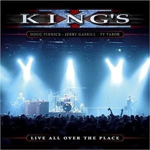 KING'S X: Live all over the place 2CD PROMO only. Top Christian melodic rock -Check all samples.