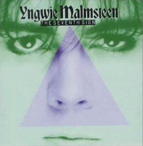 Yngwie Malmsteen: The Seventh Sign CD. Original on Music For Nations. s + video
