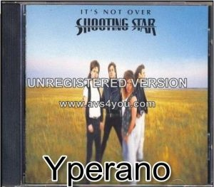 SHOOTING STAR: It's Not Over CD. great Lou Gramm / Foreigner vibe. Check videos