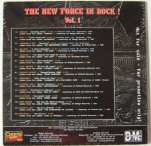THE NEW FORCE IN ROCK! Vol. 1 - 15 song Metal compilation CD FREE £0 For orders of £23+