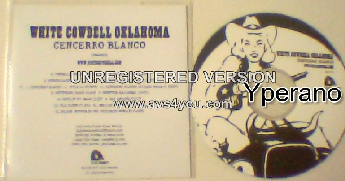 WHITE COWBELL OKLAHOMA: Cencerro Blanco CD PROMO. Kiss, ZZ TOP, Kid Rock, DOC HOLLIDAY. Check videos + all samples