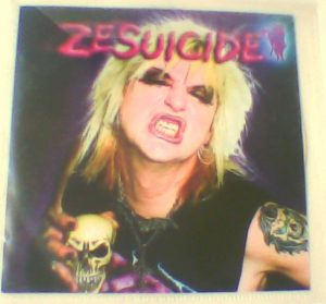ZESUICIDE: Promo CD RARE!! 11 songs Stevie Zesuicide (U.K. Subs). Great Glam PUNK. s