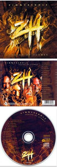 ZIMMERS HOLE: Legion of Flames CD. Devin Townsend + Strapping Young Lad members-!