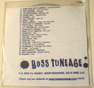 Boss Tuneage Boss Samplerage 4 disc One PROMO