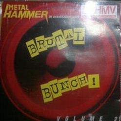 Brutal Bunch! 2 CD etc. Brother Cane, The Almighty, Psycho Motel, Cradle Of Filth, Prong, Galactic Cowboys, etc. s
