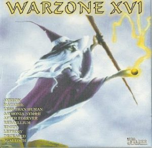 Warzone XVI (16) CD Less Than Human, Agalloch, Ayreon w. Bruce Dickinson (Iron Maiden) etc., etc.