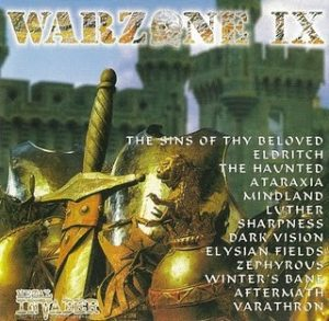 Warzone IX (9) CD 1998. The Haunted etc. s