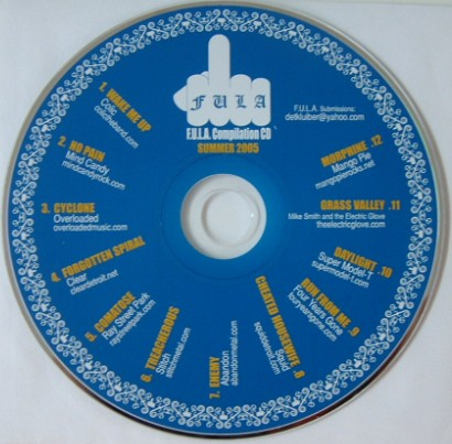 F.U.L.A Compilation 2005 CD