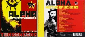 Alpha Motherfuckers - A Tribute To Turbonegro 2CD Double CD. 35 epic songs! s