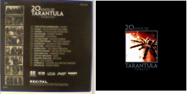 20 Anos de TARANTULA Tributo PROMO CD. RARE. Ramp, Oratory, In Solitude, The Firstborn, Demon Dagger, etc. s