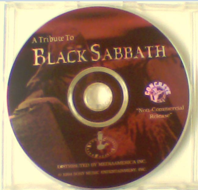 "A Tribute to BLACK SABBATH PROMO only CD. ""non commercial release"". Disc only, no covers / cover art. ULTRA, ULRA RARE!!"