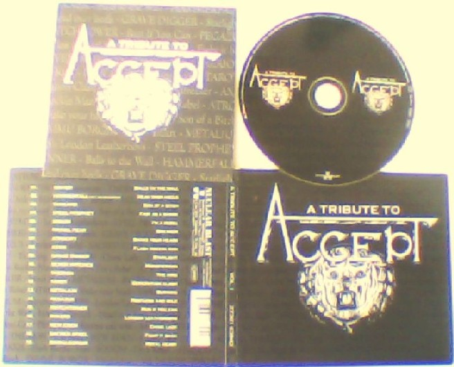 A Tribute to ACCEPT CD digipak.