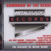 Command of the Blade CD PROMO. Check videos. Armored Saint, Cannibal Corpse, Fates Warning, Flotsam And Jetsam, Savatage, etc